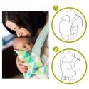 Porte bébé Nino ventral et dorsal