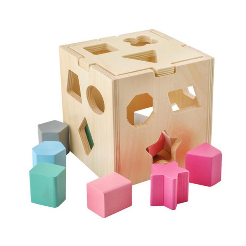Cube de tri avec formes