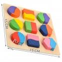 Puzzle en bois dimensions