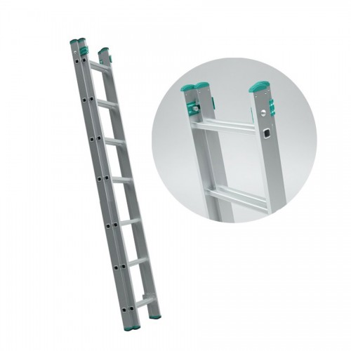 Echelle extensible double 2 plans 7 marches