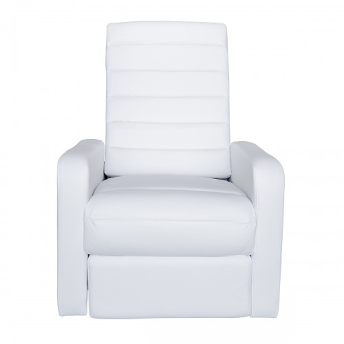Fauteuil relax blanc