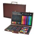Mallette Crayons versions ouvertes et fermées