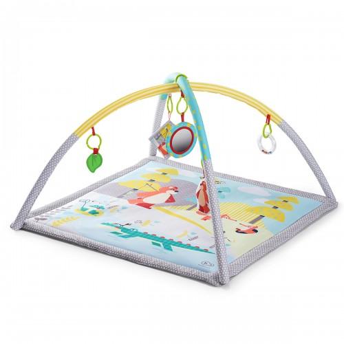 Tapis d'éveil avec arches portique d'activité jouets