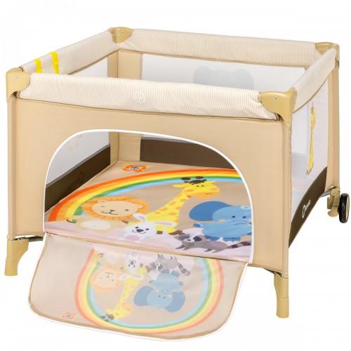 STELLA Parc bébé pliant 6 mois à 3 ans + sac + moustiquaire