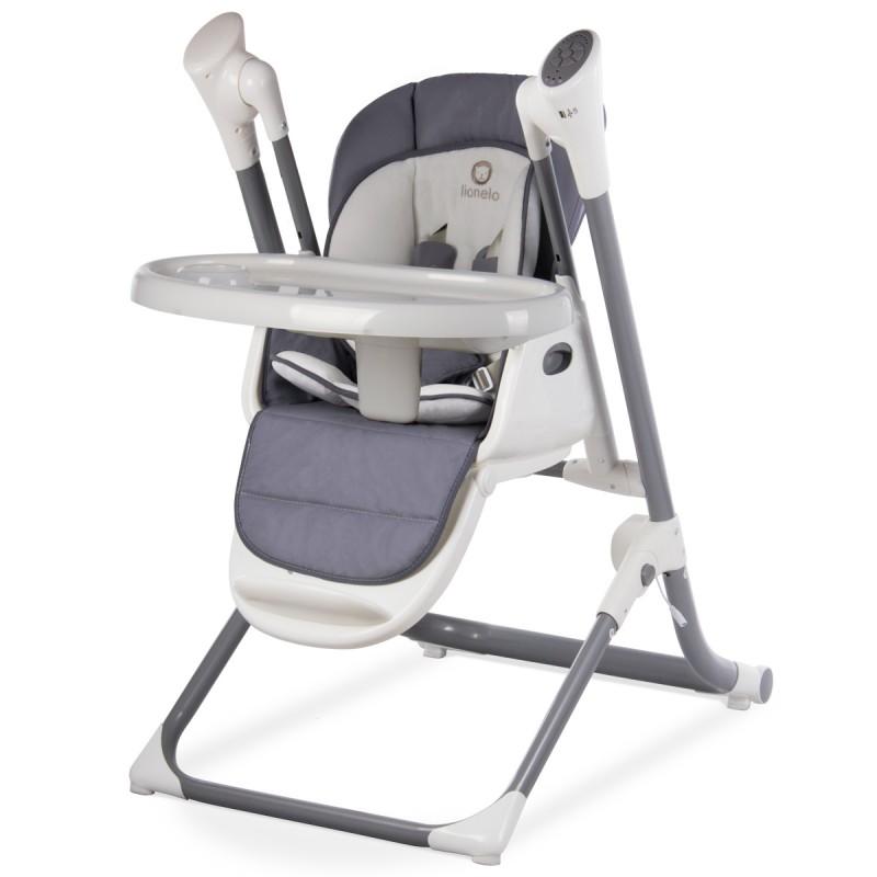 Motorisée Chaise Haute Lionelo Connectée Transat Balancelle Et mnPy80wvNO