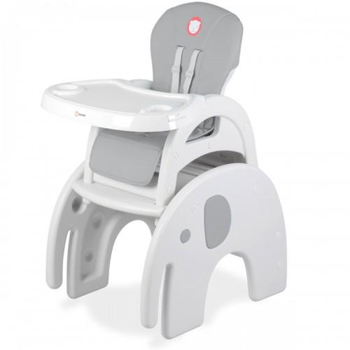 Chaise haute ELI Grise