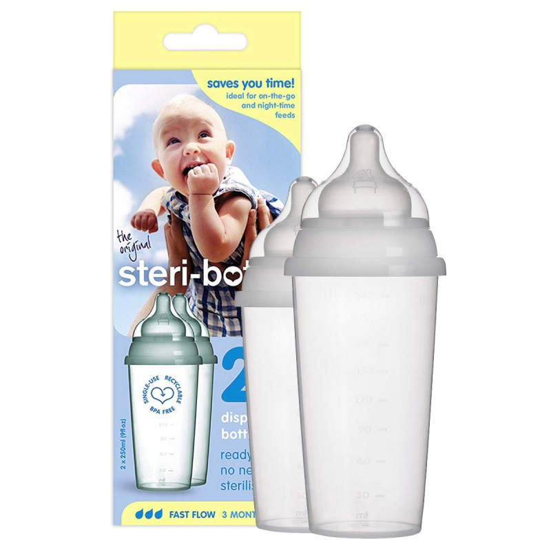 2 Biberons STERI-BOTTLE