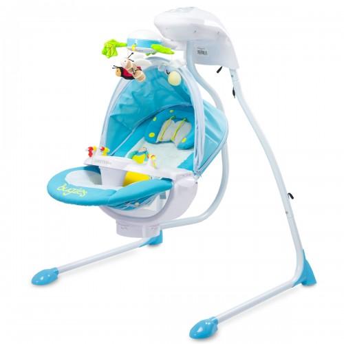 BUGIES Balancelle bébé électrique inclinable rotation à 180°