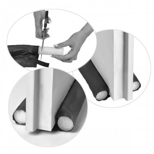 Boudin de porte anti-bruit anti-odeurs