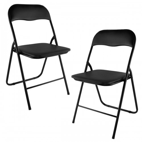 Lot de 2 chaises pliantes