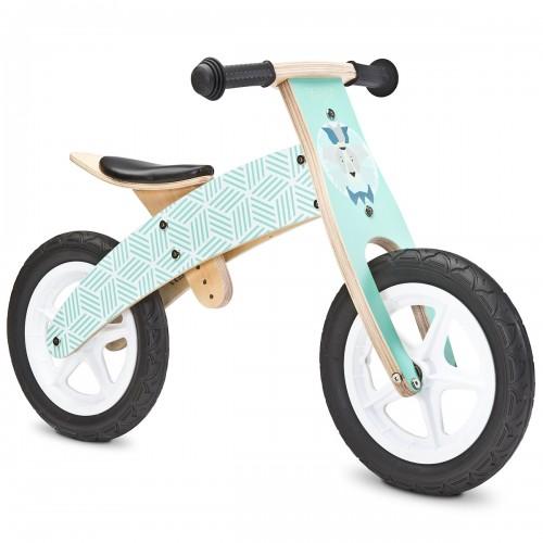 WOODY Draisienne bois vélo apprentissage sans pédale 3 à 6 ans