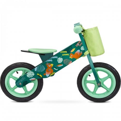 ZAP Draisienne en bois vélo d'apprentissage sans pédale 3 à 6 ans
