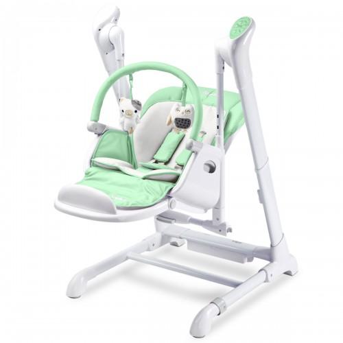 Indigo chaise haute  balancelle 2 en 1