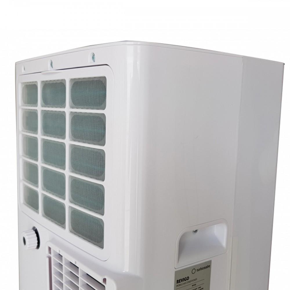 TURBIONAIRE REVIGO Climatiseur Mobile 3en1 avec /évacuation ext/érieure 7000 BTU//h