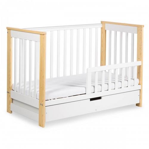 IWO Lit bébé enfant évolutif avec tiroir 120x60