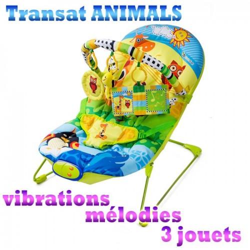 Transat balancelle animals siège bébé kinderkraft