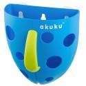 Panier rangement jouets bleu