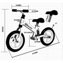 Draisienne EVO AMORTISSEUR vélo de marche sans pédale