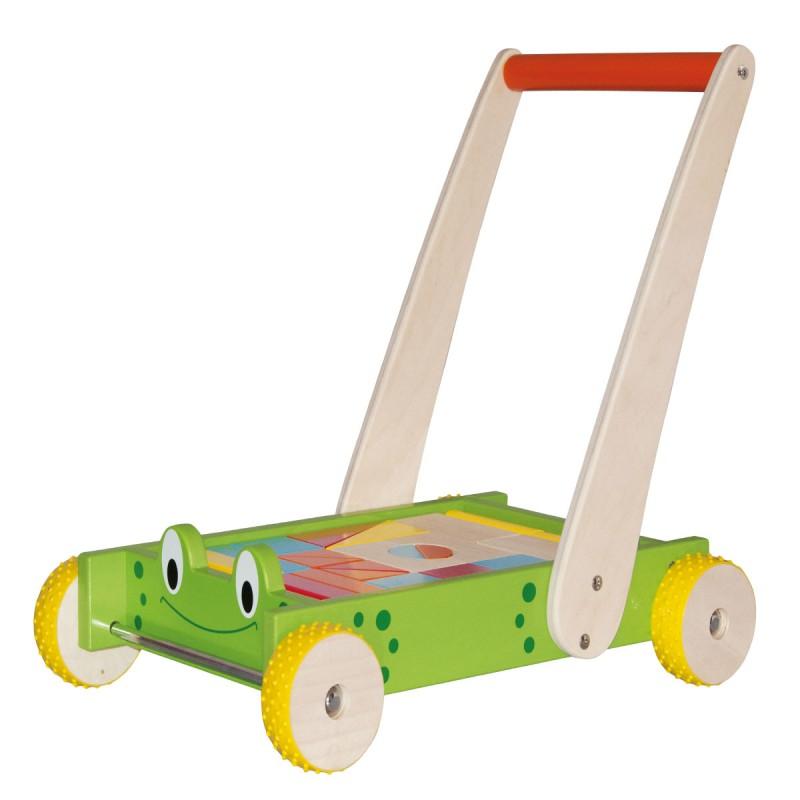 Chariot blocs de jeux