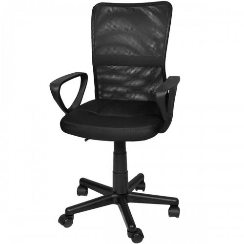 CHASY Fauteuil de bureau avec dossier ergonomique noir