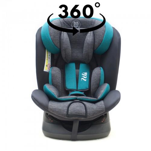 ZELI Siège-auto 360° Isofix 0-36 kg Groupe 0+/1/2/3
