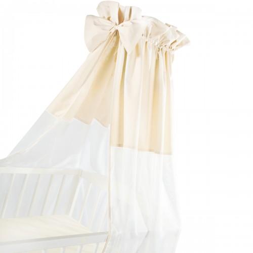 Ciel de lit beige