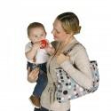 Housse protection caddie bébé