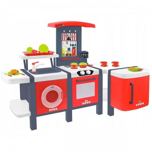 COOK Dînette cuisine grand taille + 26 accessoires pour enfant