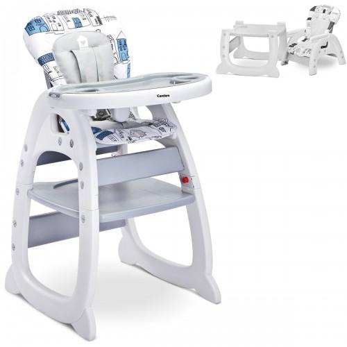 HOMEE Chaise haute 2en1 évolutive en bureau