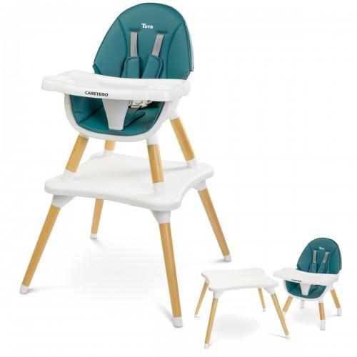 TUVA Chaise haute évolutive en table et chaise