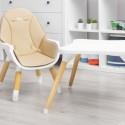 Chaise haute beige