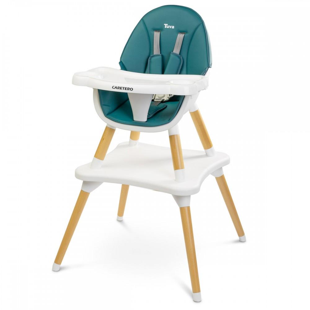 Chaise haute scandinave 7 en 7 évolutive en table et chaise pour