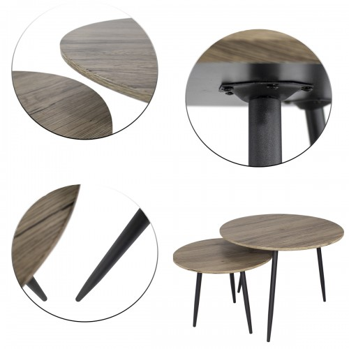 set de 2 tables basses