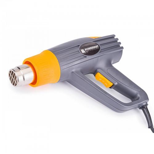 Pistolet thermique électrique décapeur air chaud 2000 W + accessoires