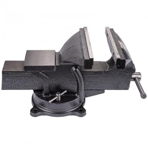 Étau d'établi pivotant acier ouverture mâchoire 190 mm largeur 200 mm