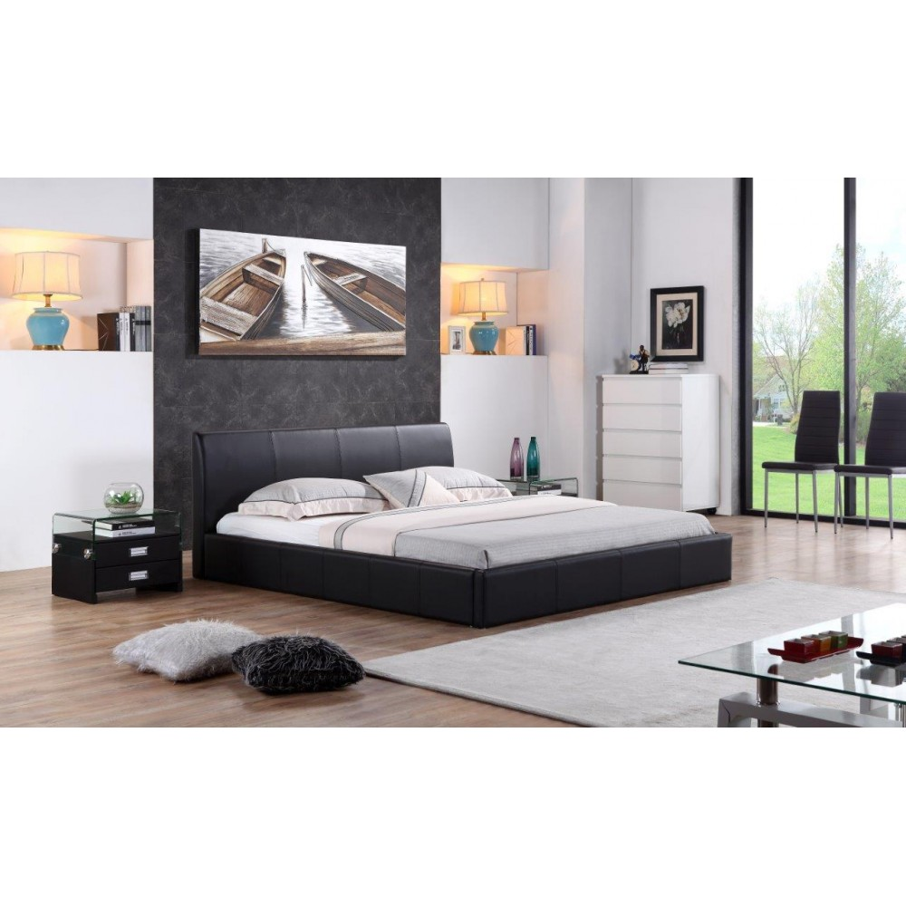 cadre de lit design monaco marque paolo collaner. Black Bedroom Furniture Sets. Home Design Ideas