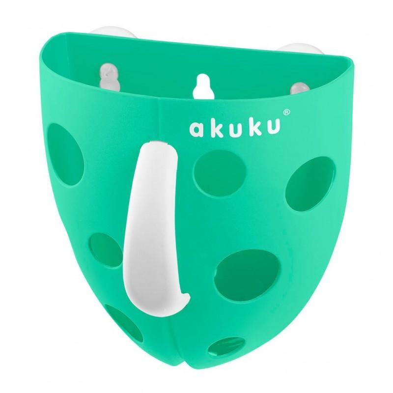 Panier rangement jouets vert