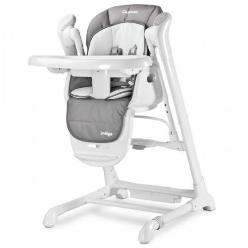 Indigo chaise haute gris