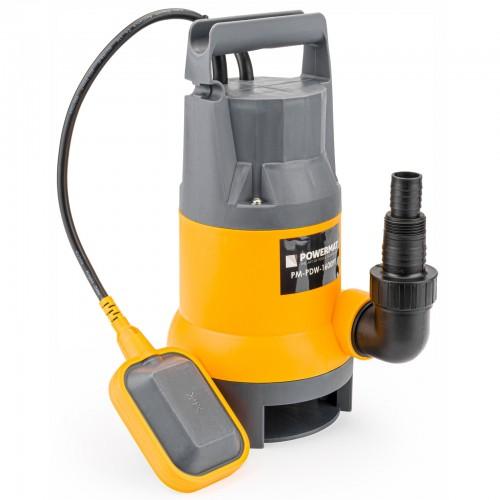Pompe à eau immergée pour eau propre-sale 1600W avec flotteur 9500L/h
