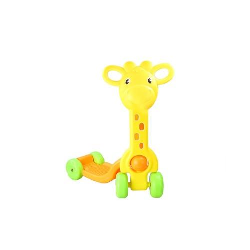 Trotinette Girafe jaune