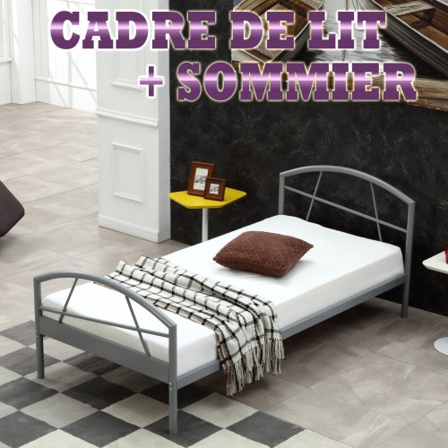 Cadre de lit SUSI sommier intégré
