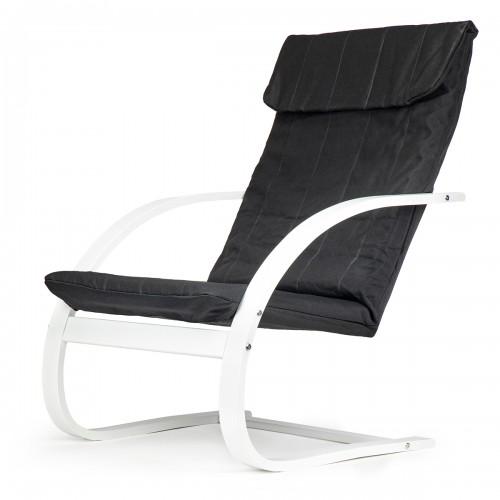BOO Rocking chair blanc et noir