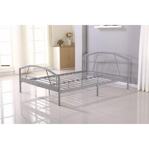 Cadre de lit SUSI métallique + sommier intégré