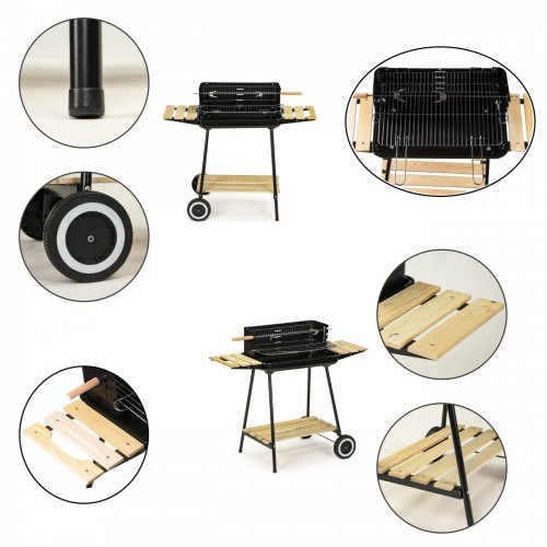 Barbecue grille réglable