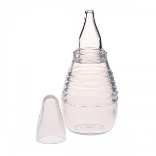 NINA Mouche-bébé manuel poire en silicone transparent