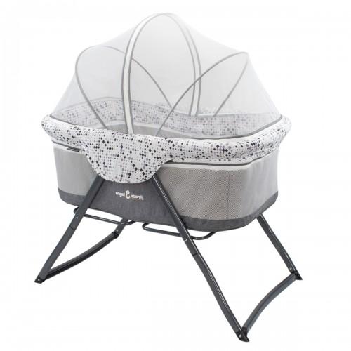 BEBITO Berceau lit parapluie bébé 3 en 1 avec moustiquaire et sac de rangement