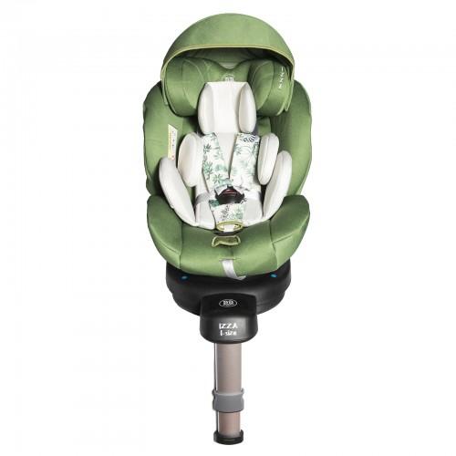 IZZA Siège-auto pivotant 360° 0-22 kg jambe de force Isofix I-Size 40-105 cm
