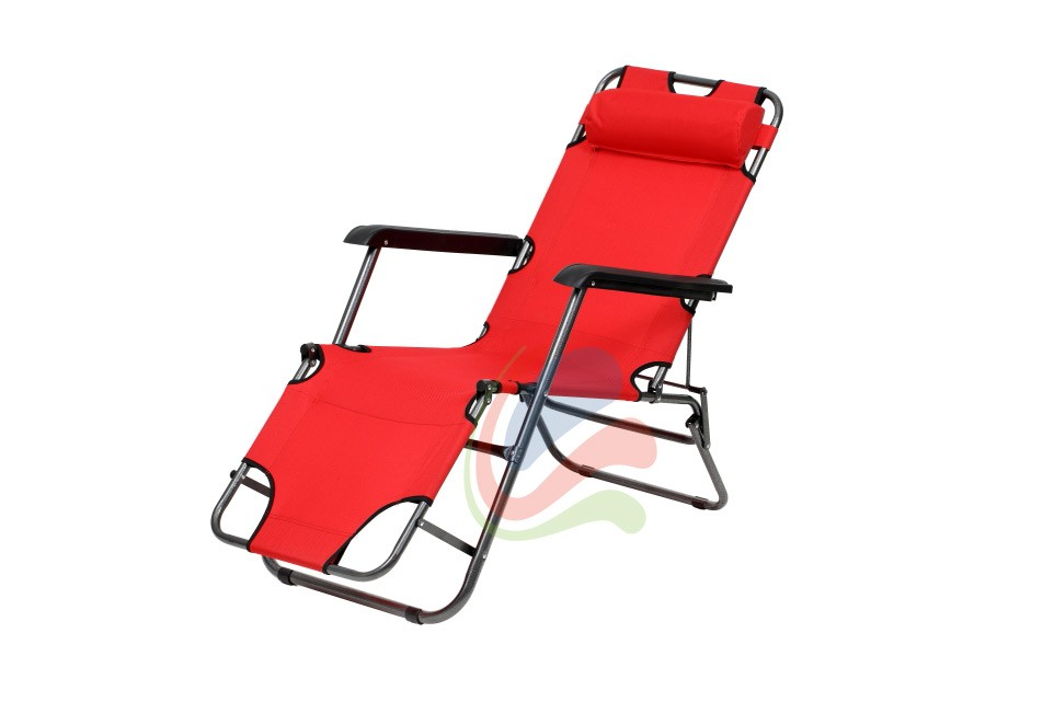 Transat chaise longue jardin plage 3 positions ebay for Transat fauteuil jardin