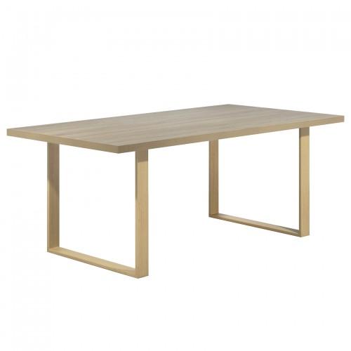 Table chêne-chêne