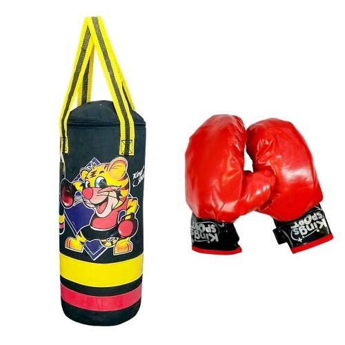 Sac de frappe gants de boxe enfant